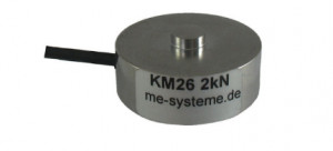 KM26 - Cellule de force type bouton de 100 N à 10 kN
