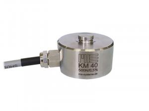 KM40 - 100 N à 50 kN - Ø 40mm - IP67 - Capteur de force  bouton de 100 N à 50 kN