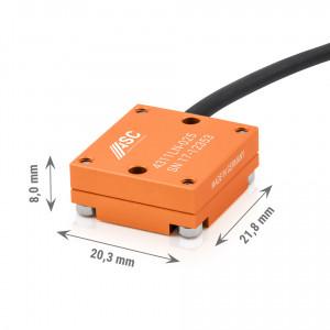Accéléromètre capacitif monoaxe