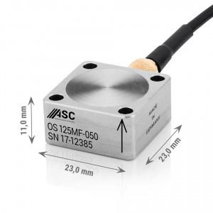 OS-125 MF - Accéléromètres IP68 1 axe ±2g à ± 200g