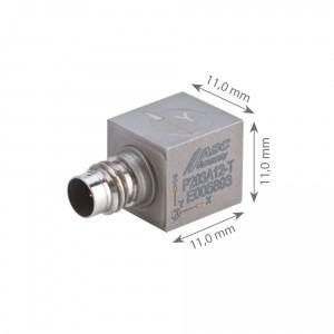 Accéléromètre triaxial IEPE