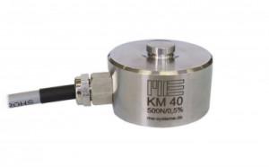 KM40e - Capteur de force bouton de 20 kN à 50 kN Amplifié