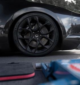 Nappes de pression dynamique pneu