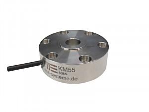KM55 - Ø55 - 10 à 50kN - IP67 - Capteur de force bouton de 20 kN à 50 kN