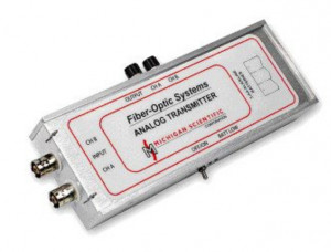 FO-ST & FO-SR-04 - Fiber-Optic System 20kHz Analog TX