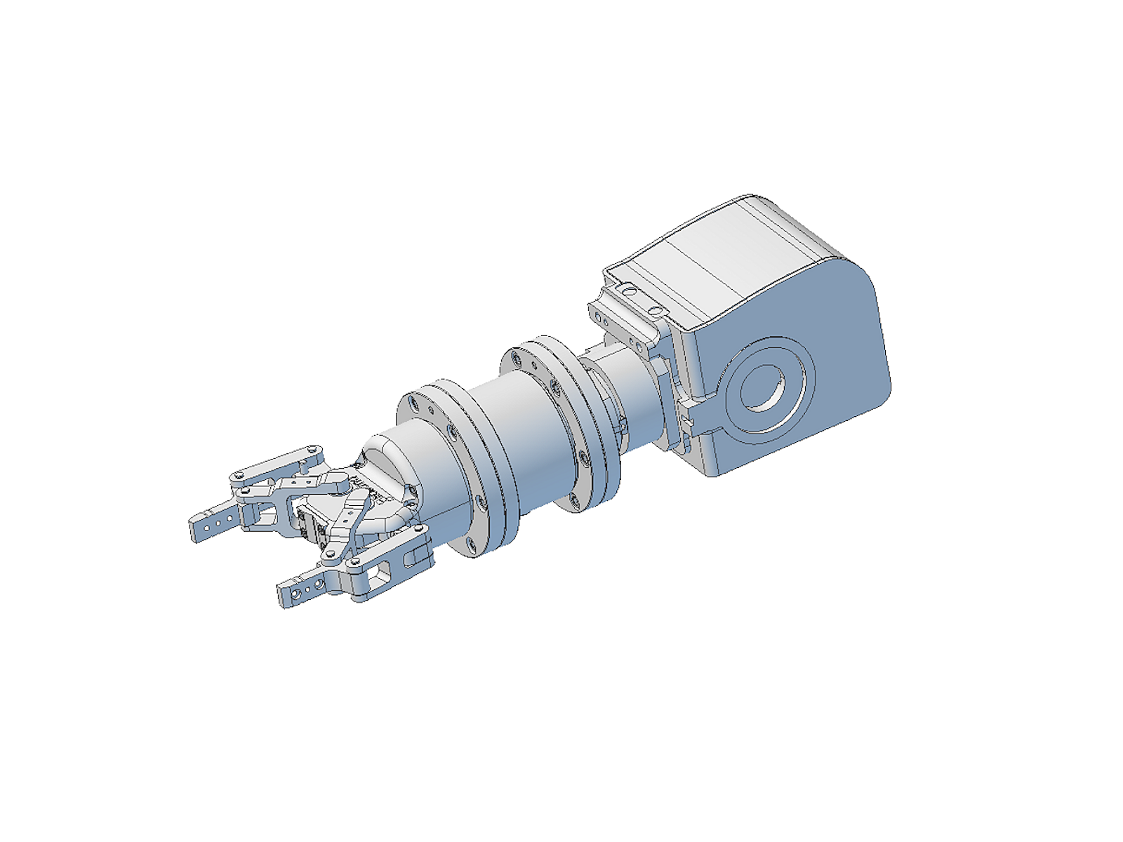 K6D130 - 6 axes - Ø130 x 80 mm - 6 axis force/torque transducer - 1kN/200Nm to 15kN/1,2kNm