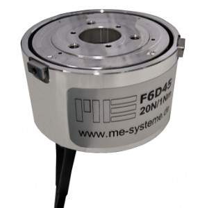 F6D45 - 6 axis force/torque transducer - 20N / 1Nm - robotics