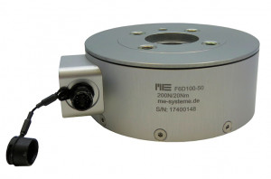 F6D100-50 / F6D100-50e - 6 axis force/torque transducer - 400 N / 20 Nm to 1200N / 60Nm - robotics