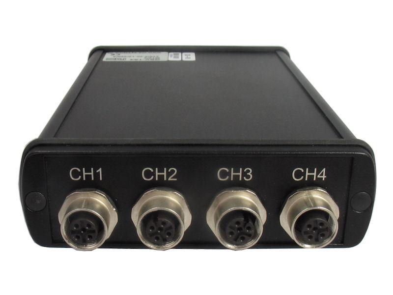 GSV-1A4 - 4-channel strain-gage amplifier