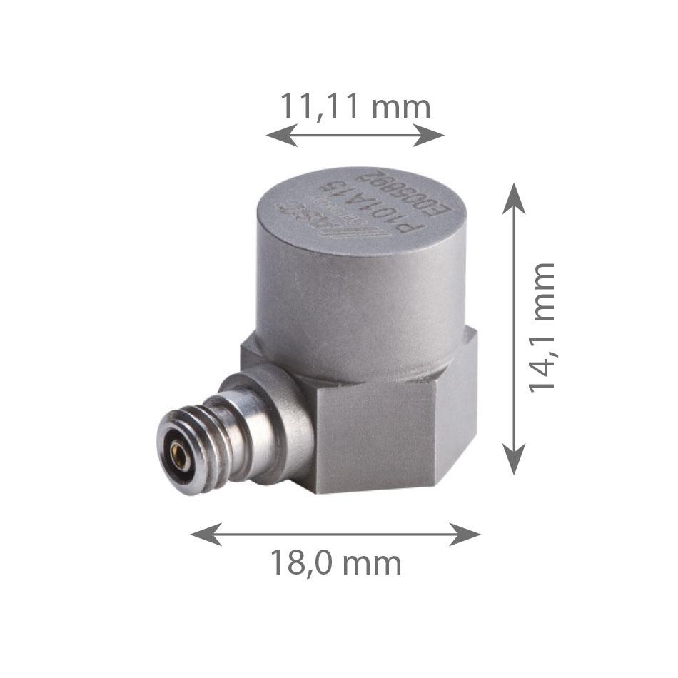 Accelerometre IEPE P101A25
