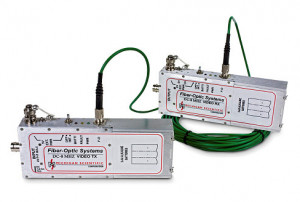 FO-HBAVT & HBAVR - Fiber-Optic Systems Analog/Video Link