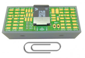 GSV-6BT - 6-channel analog acquisition module with Bluetooth 4.0