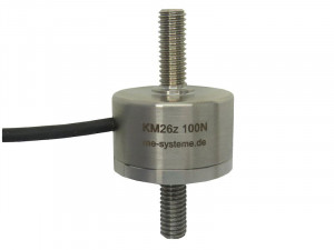 KM26z - Miniature load cell - 20N to 5 kN - IP67 - Tension / compression