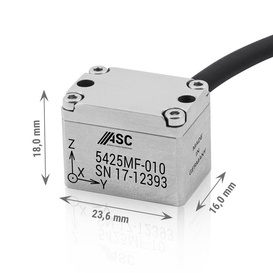 Accéléromètre capacitif IP67