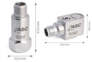 P311A15 - P311A25 - Accéléromètres Piezo-Electrique ±50g à ±1000g