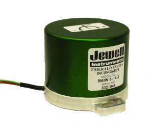 RMI - AccuStar Footprint - Inclinomètre inertiel mono-axe - 1 à 90° - limite choc 1500g - sortie ±5VDC