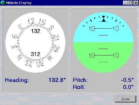 Compas numérique avec inclinaison