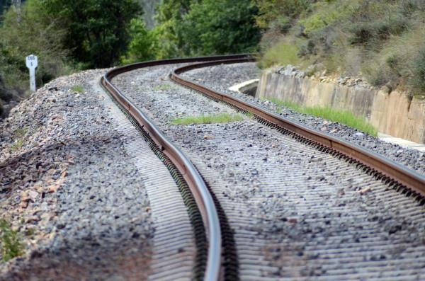 Contrôle géométrique de voies ferrées