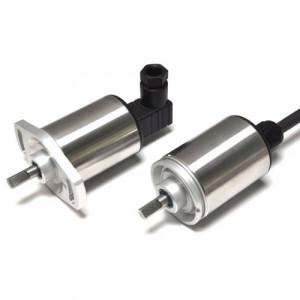 Capteur rotatif inductif linéaire
