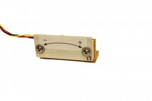 Model 84053 et 59577 - miniature - Servo Inclinomètre de précision 2 axes - 3 à 90° - haute résistance