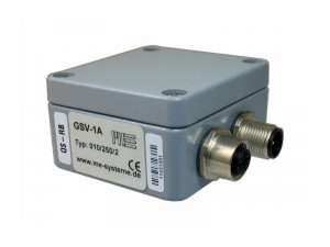 GSV-1A - 1 voie - Force - IP66 - 1- channel straingauge standalone amplifier