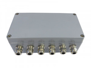GSV-15KL4 - Junction box with measuring amplifier for sensors with straingages