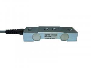 KS180 - Effort palier - Double bending beam force sensor - 5 to 1000 N - flat design