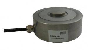 KR80 - 0,25 à 10t - Ø 80mm - Capteur de force  bouton de 100 N à 50 kN