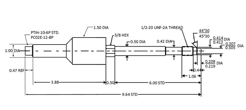 Capteur de pression injection plastique