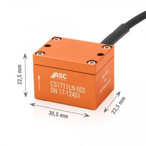 CS-1711 LN - Accéléromètres mems 1 axe ±2g à ± 50g