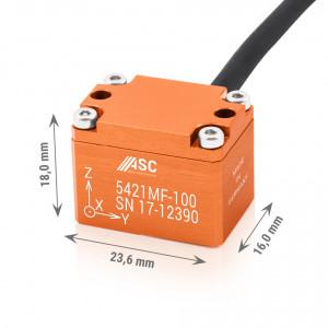 Accéléromètre capacitif